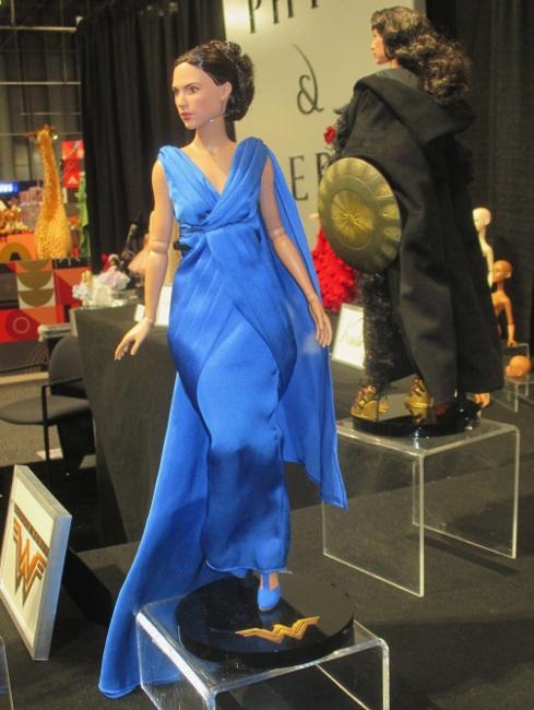 Wonder Woman's Gala Gown ensemble