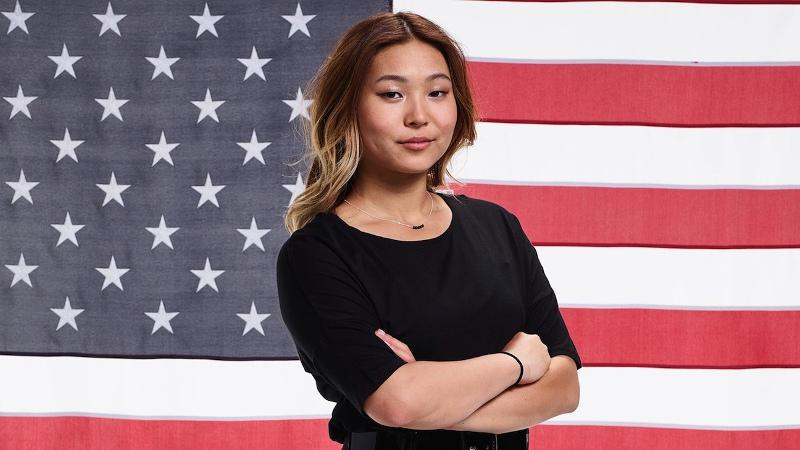 Chloe Kim, All-American Girl. NBC Official Portrait