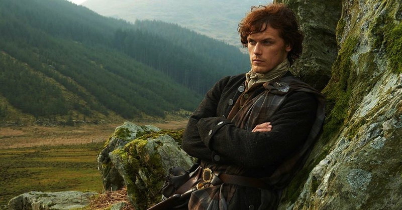 Jamie Fraser is soon to be a portrait doll. Photo courtesy of STARZ multimedia archive