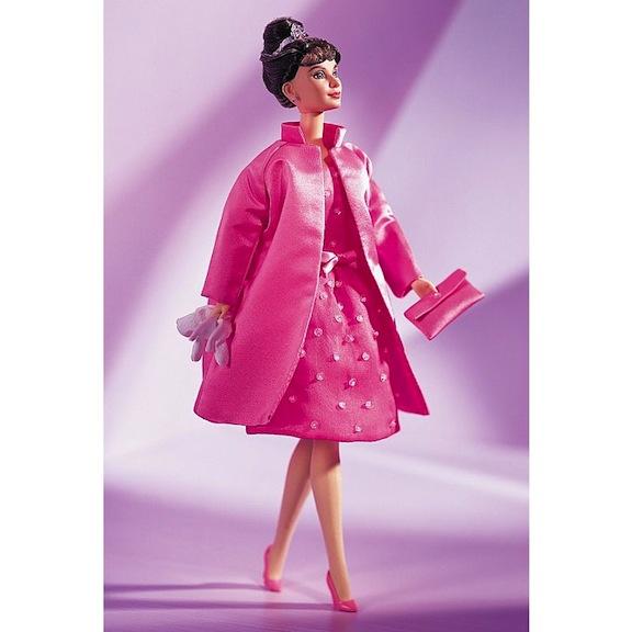 1999 Pink Princess Audrey Hepburn doll