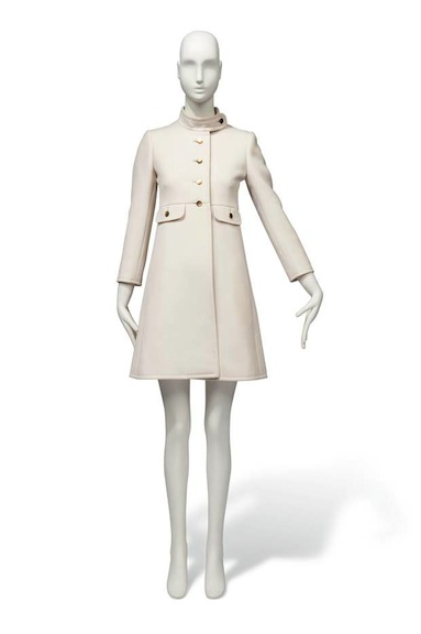 Audrey Hepburn's gabardine coat