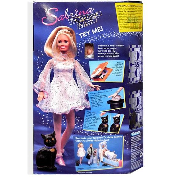 Sabrina and Salem dolls