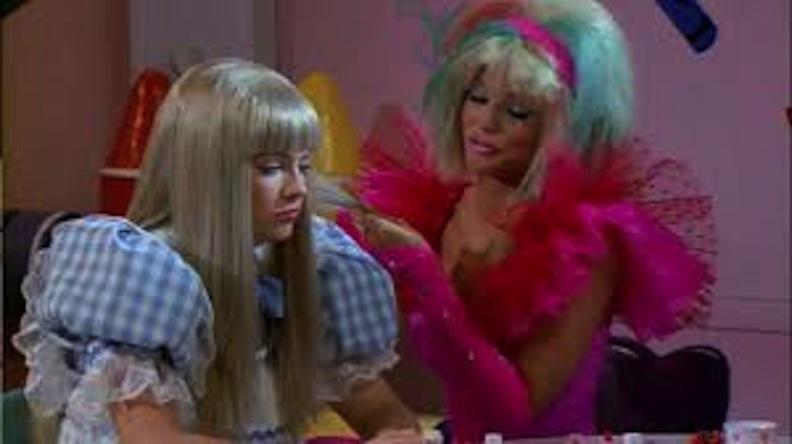 Sabrina meets a Barbie doll