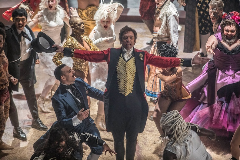 "Hugh Jackman as P.T. Barnum in ""The Greatest Showman"""