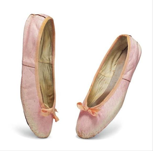 Audrey Hepburn's ballet slippers