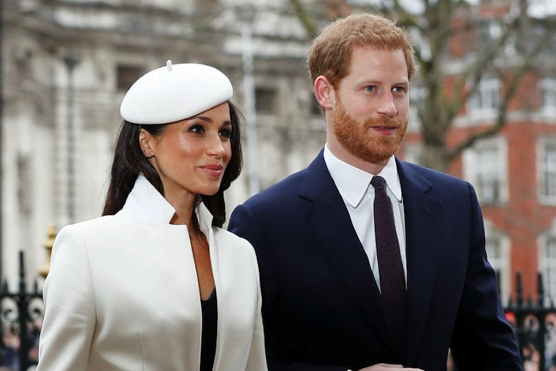 Meghan and Harry in March 2018