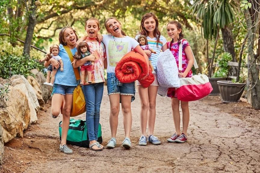 American Girl Camp Dolls
