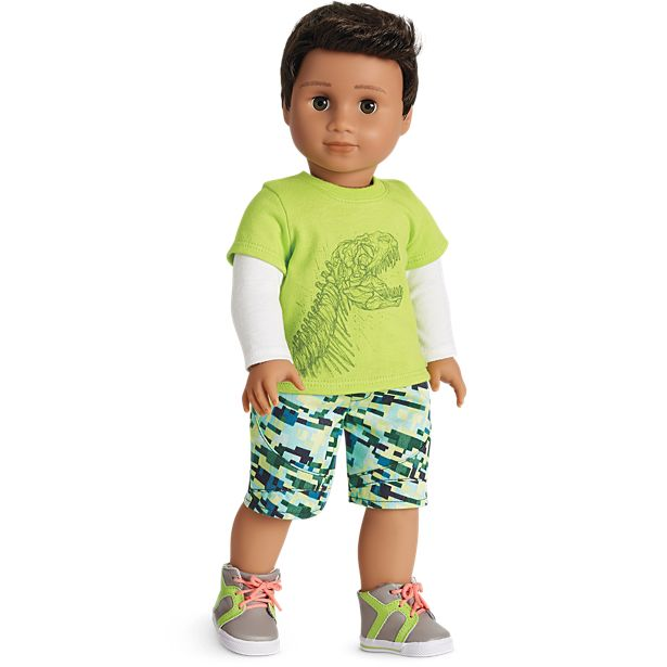 Dinomite Outfit for Truly Me doll from American Girl