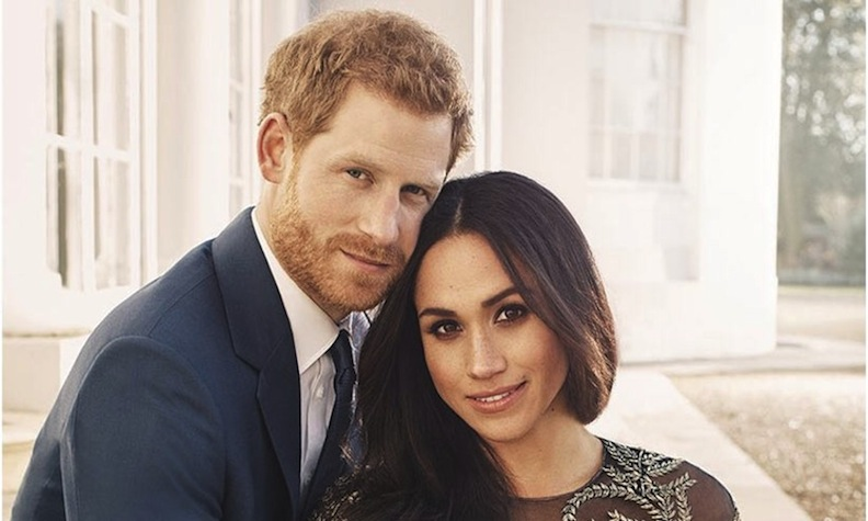 Official Engagement Photo for Harry and Meghan