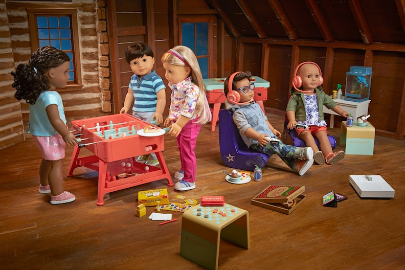 Playroom Scene from American Girl
