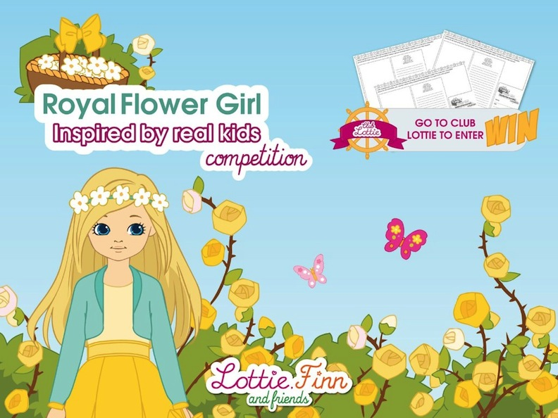Royal Flower Girl Lottie Doll 2018