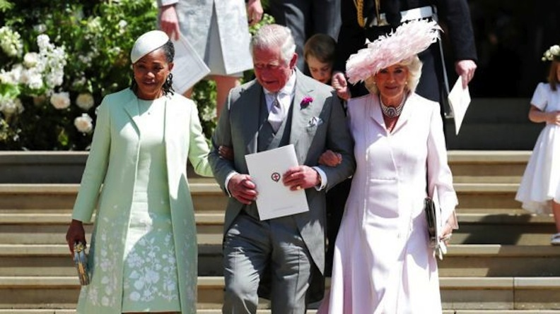 The in-laws, Markle's mom and Prince Charles and Camilla Parker Bowles
