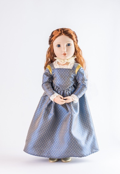 Elizabethan Era Elinor doll from A Girl for All Time