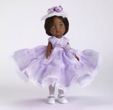 """Sweet Violet"" Nancy Ann Storybook Doll"