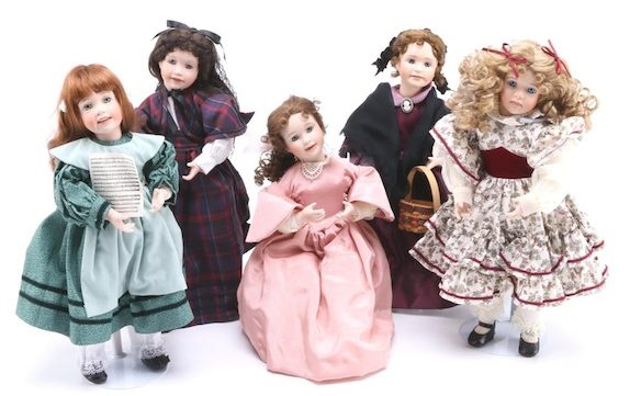 Ashton Drake Little Women dolls