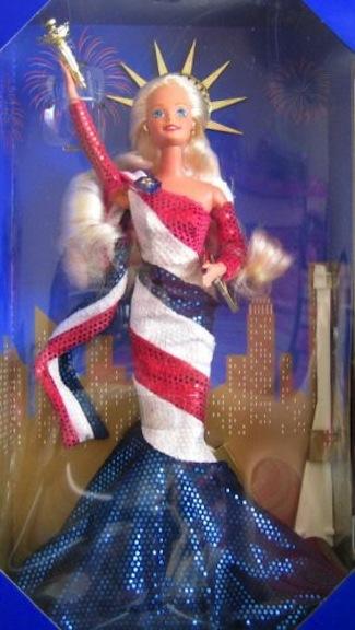 FAO Schwarz Barbie as Statue of Liberty