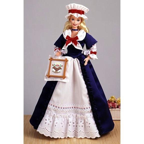 Colonial Barbie Doll