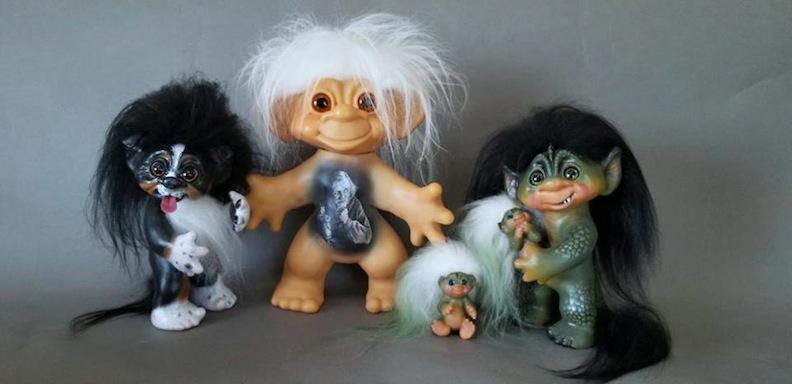 Judi Paul Various Troll Dolls
