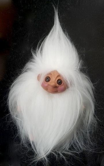 Whimsical Hairy Troll