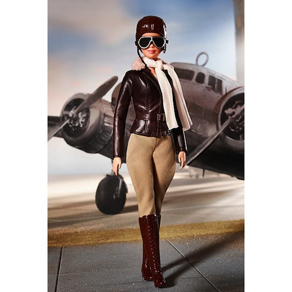 Amelia Earhart doll