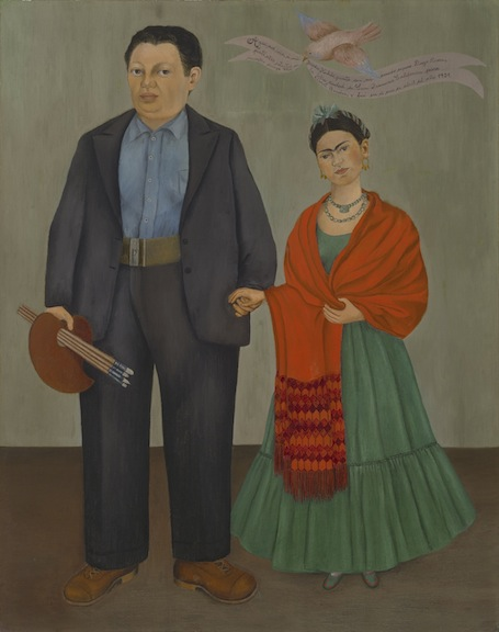 Painting of Diego and Frida