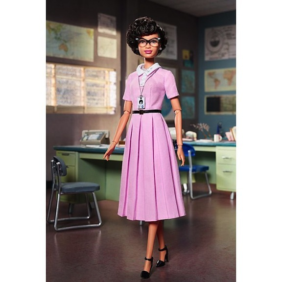 Katherine Johnson Barbie Doll