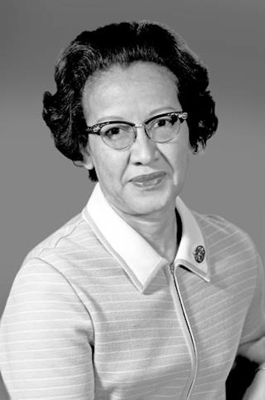 Official NASA photo of Katherine Johnson