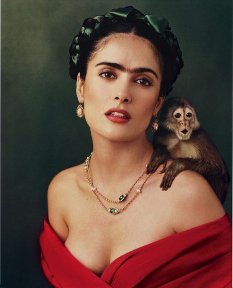 Salma Hayek as Frida Kahlo