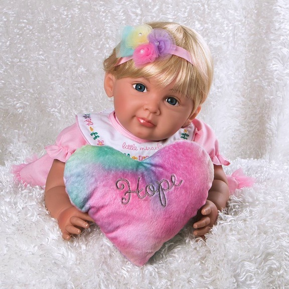 Rainbow Collection Baby Doll Hope