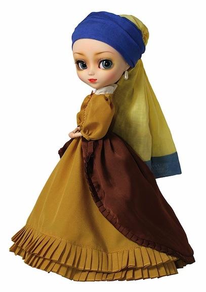 """Pullip version of Vermeer """"Girl with Pearl Earring"""""""