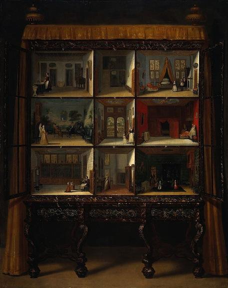 Jacob Appel dollhouse painting