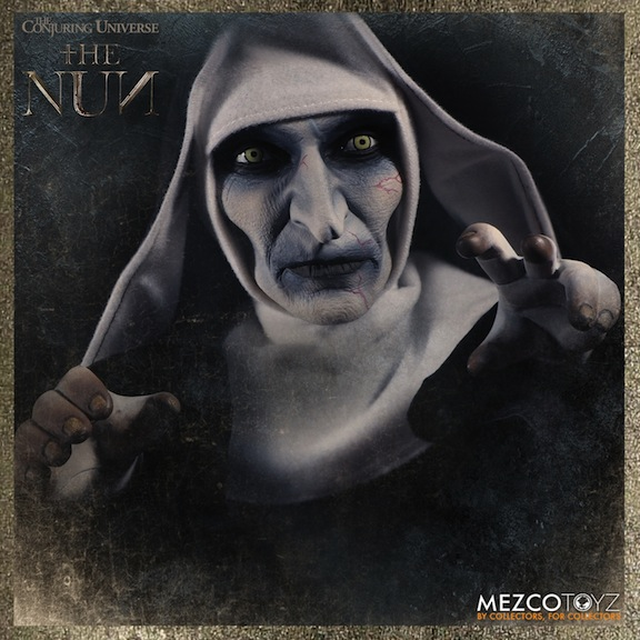 Scary Nun portrait doll from Mezco