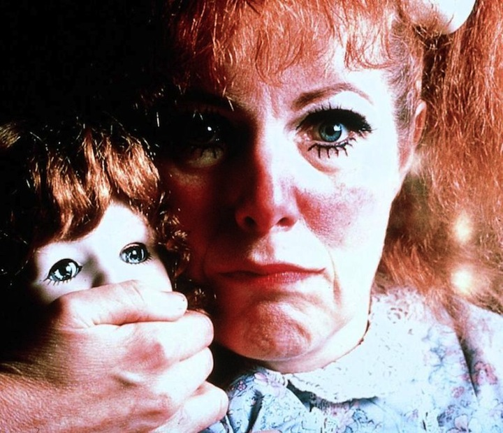Lynn Redgrave hushing doll
