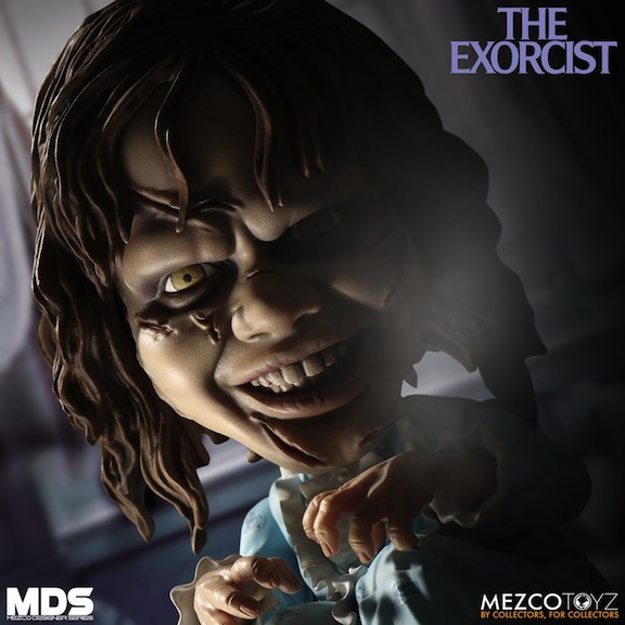 Mezco Toyz Linda Blair Regan doll