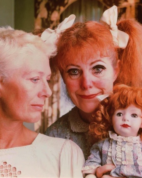 "Vanessa Redgrave and Lynn Redgrave in ""What Ever Happened to Baby Jane?"""