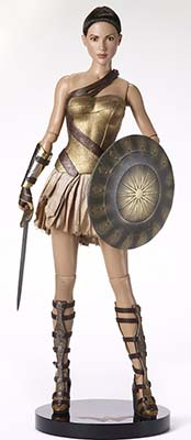 Wonder Woman Training Armor Deluxe from Tonner Doll Company