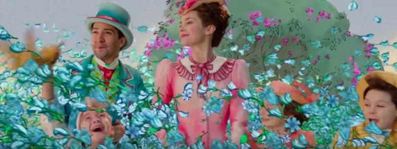 Trailer tease of Mary Poppins Returns
