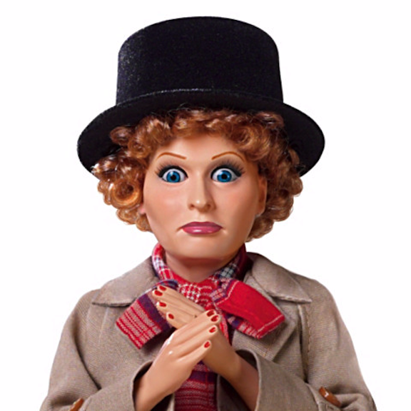 Lucy Harpo Marx talking doll