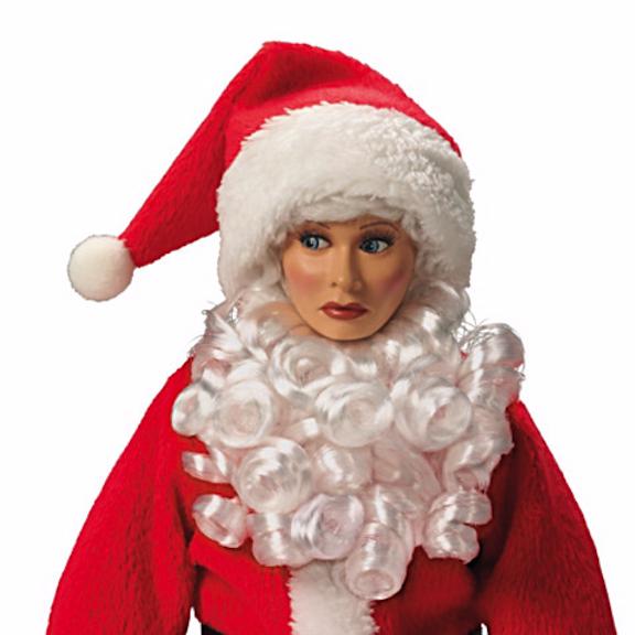 Ashton Drake Lucy as Santa