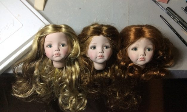 Spreading Christmas Cheer: Brenda Mize's dolls invite holiday festivities