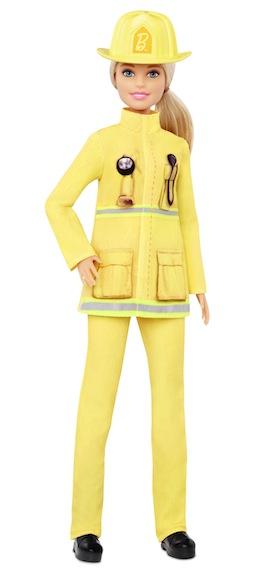 2019 Barbie Firefighter