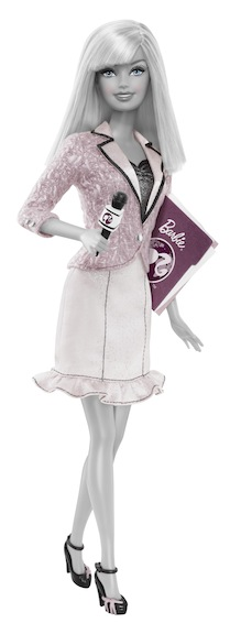 Barbie News Anchor 2010