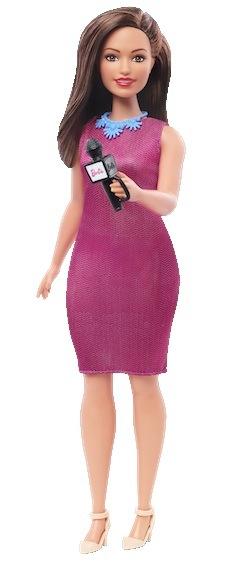 2019 Barbie news reporter