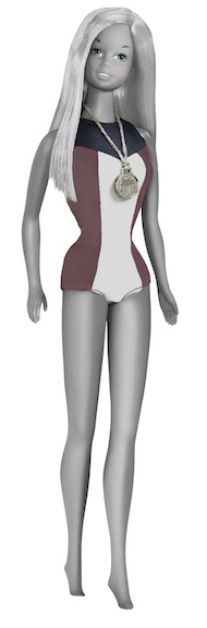 1975 Olympian Barbie