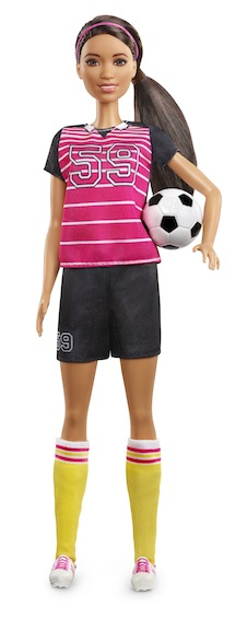 2019 Soccer Player Barbie