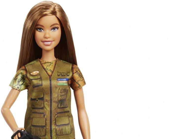Barbie National Geo Dream Gap 2019