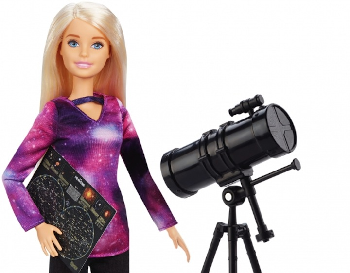 Barbie telescope Dream Gap