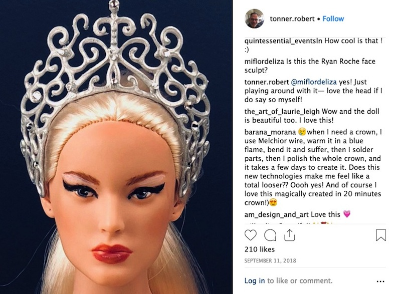 Tonner Instagram Post