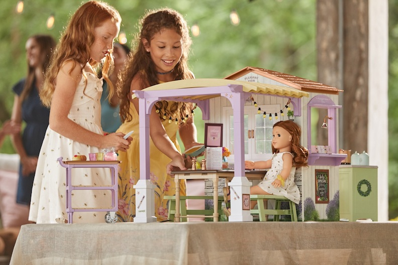 American Girl family restaurant