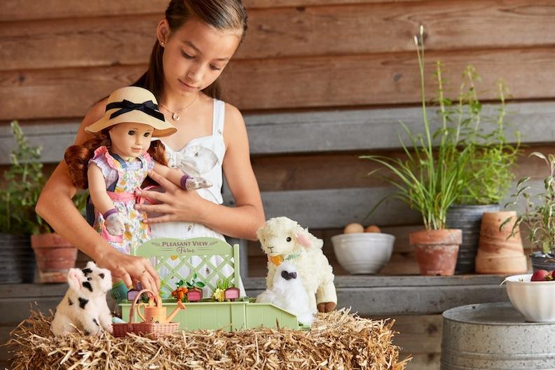 American Girl Blaire Garden Set